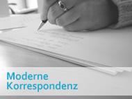 Seminar Moderne Korrespondenz