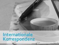 Seminar Internationale Korrespondenz