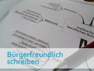 Seminar Bürgerfreundlich schreiben